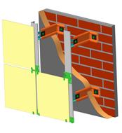 Вентилируемые фасады ZIAS (350-420 р/м2) ТО и ТС Росстроя РФ Фасадный