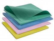 Салфетки протирочные для уборки помещений.