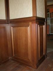 Стеновые и потолочные панели из массива дуба,  бука,  ясеня